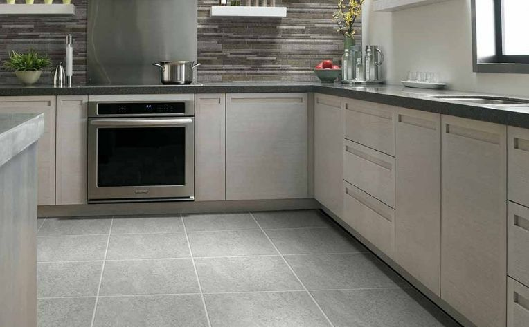 Tile Flooring Kitchen